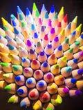 Farbe zeichnet Nahaufnahme an Lizenzfreies Stockfoto