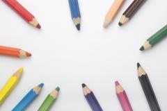 Farbe zeichnet Rahmen an Lizenzfreie Stockbilder