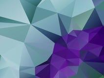 Farbeabstrakter poligonal Hintergrund Lizenzfreies Stockfoto