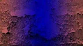 Farbeffektwandbeschaffenheits-Hintergrundtapete Browns blaue Klare Vektorillustration lizenzfreie abbildung