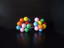 Farbekleine ballooms Lizenzfreie Stockbilder