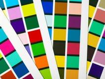 Farbenänderungen am objektprogramm Stockfotos