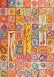 Farben-ψυχή Geist der των χρωμάτων Στοκ φωτογραφίες με δικαίωμα ελεύθερης χρήσης