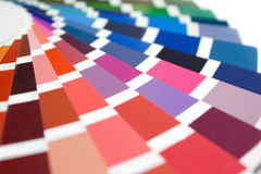 Farben-Anleitung Lizenzfreie Stockbilder