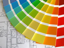 Farben-Anleitung lizenzfreies stockfoto