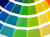 Farben-Anleitung stockbilder