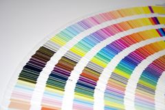 Farben-Anleitung lizenzfreies stockbild