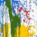 Farben-Anstrich stockfoto
