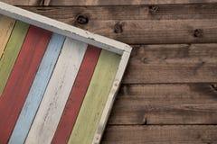 Farben auf dem Behälter Lizenzfreie Stockfotos