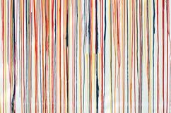 Farben auf der Tapete. Lizenzfreies Stockfoto