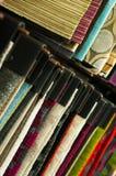 Farben ausgerichtet Stockbilder