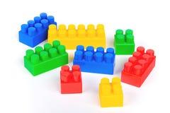Farben-Blöcke Stockfoto
