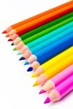 Farben-Bleistift Lizenzfreie Stockbilder