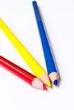 Farben-Bleistift Stockbild