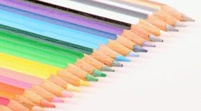 Farben-Bleistift Lizenzfreies Stockbild