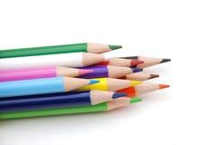 Farben-Bleistifte lizenzfreies stockfoto