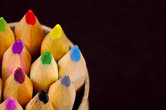 Farben-Bleistifte lizenzfreies stockbild