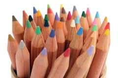 Farben-Bleistifte Stockfotografie
