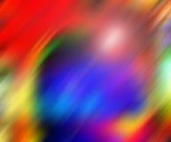 Farben in der Bewegung stockbild