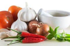 Farben der gesunder Ernährung Lizenzfreie Stockfotos