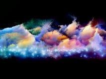 Farben der Kreation stockbilder