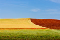 Farben der Landschaft Stockbilder