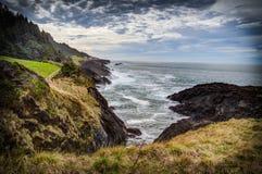 Farben der Oregon-Küste Stockfotografie