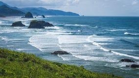 Farben der Oregon-Küste Lizenzfreies Stockfoto