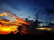 Farben des Himmels Stockfoto