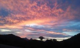 Farben des Himmels Stockbilder