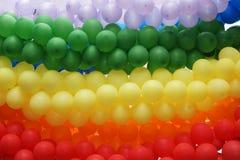 Farben des homosexuellen Stolzes stockfotos