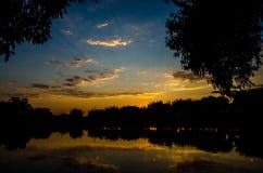 Farben des Morgens stockfotos