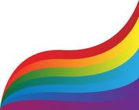 Farben des Regenbogens Vektor Abbildung