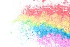 Farben des Regenbogens Stockfotos