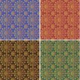 Farben eines Musters vier Stockfotografie