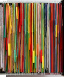 Farben-Faltblätter stockfotografie