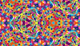 Farben-Fliese-Hintergrund Stockfotos