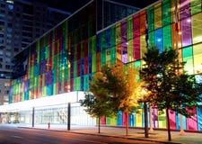 Farben-Gebäude Stockbild