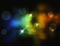 Farben-Hintergrund Stockbild