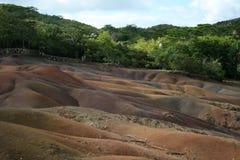 Farben im Boden Stockfotos