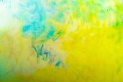 Farben im Wasser Lizenzfreies Stockbild