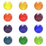 Farben-Kugelgruppe des Glases unterschiedliche vektor abbildung