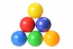 Farben-Kugeln Lizenzfreie Stockbilder