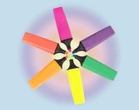 Farben-Markierung Lizenzfreie Stockbilder