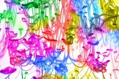 Farben-Mischung stockbild
