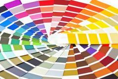 Farben-Palette Stockfotos