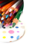 Farben-Palette Stockbilder