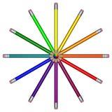 Farben-Rad Stockfotos