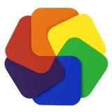 Farben-Rad Stockbild