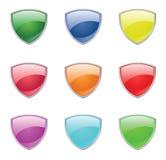 Farben-Schild Stockfotos